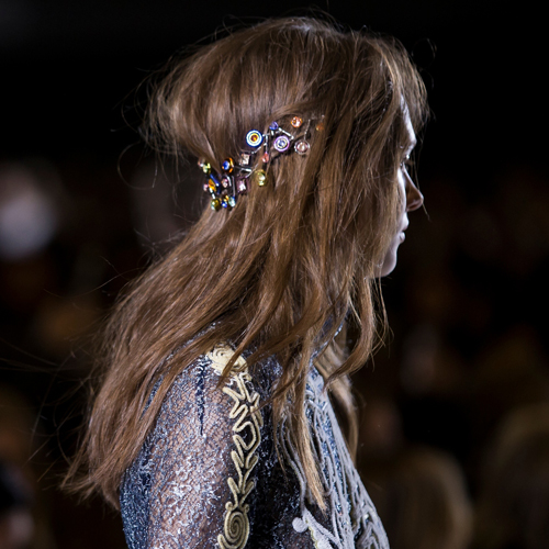 Peter Pilotto embellished hair
