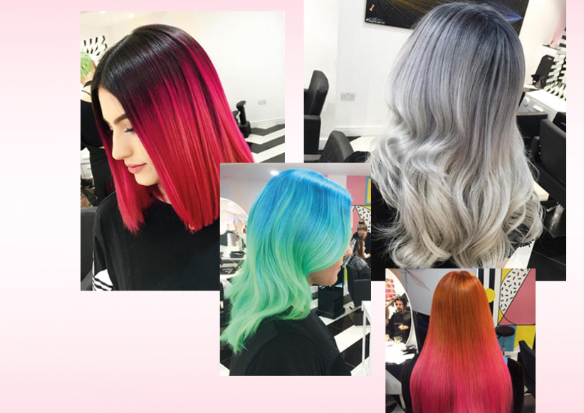 Not Another Salon High End Colour Bleed
