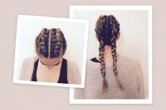 How to do boxer braids