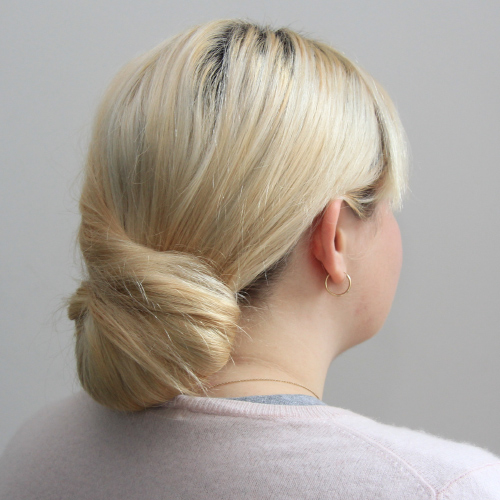 The Scrun chignon