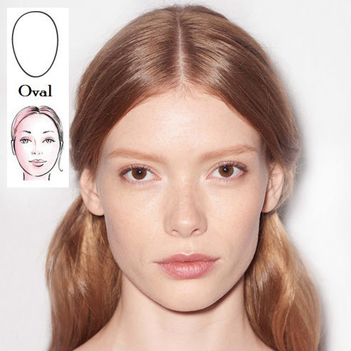 Hair styles to suit oval face shapes