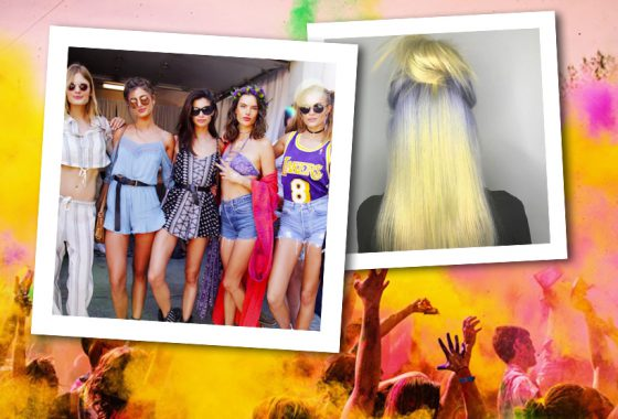 Four days of festival hair – so you can concentrate on partying!