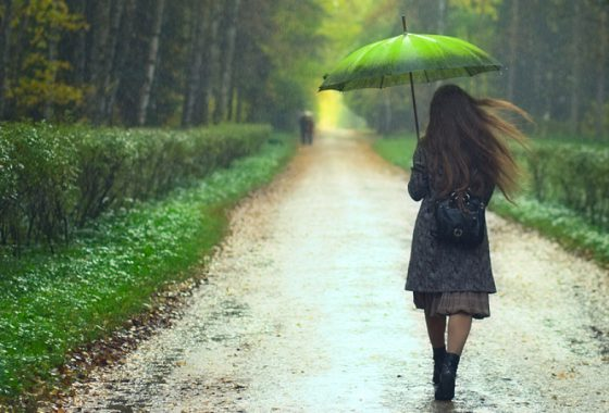 Is that rain…? How to weather-proof your hair
