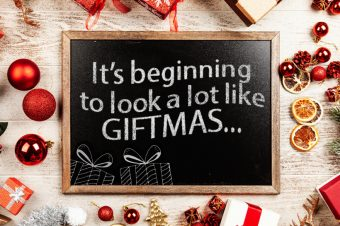 It's beginning to look a lot like GIFTMAS