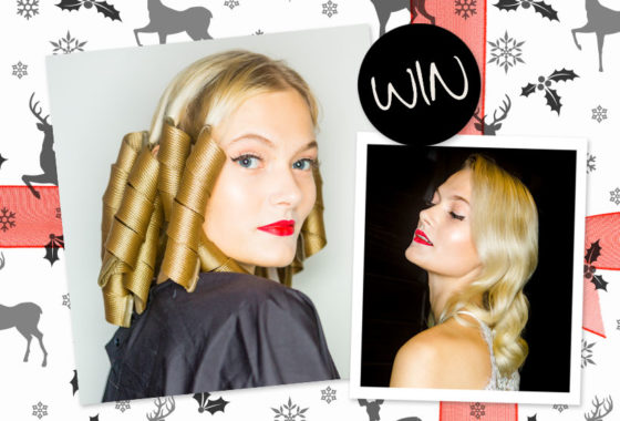 Wave hello to Christmas with a Deluxe styling range from Curlformers by Hairflair worth £70