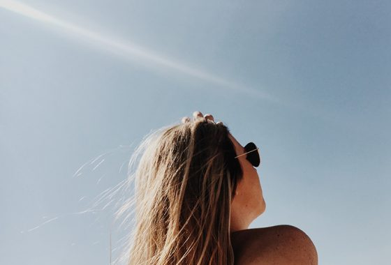 How to air-dry your hair this summer