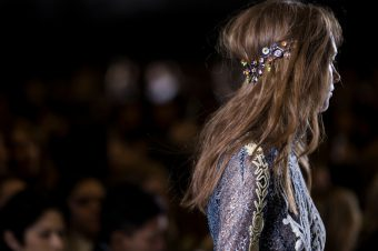 We're obsessed with embellished hairstyles…