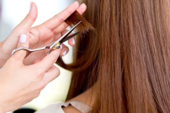 How to cut your long hair without losing any length