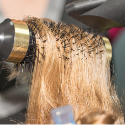 Blow-dry tips
