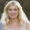 Kate Moss wedding hair