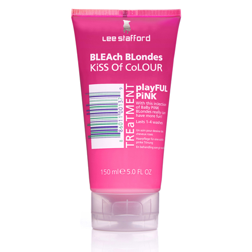 Lee Stafford Bleach Blonde Playful Pink