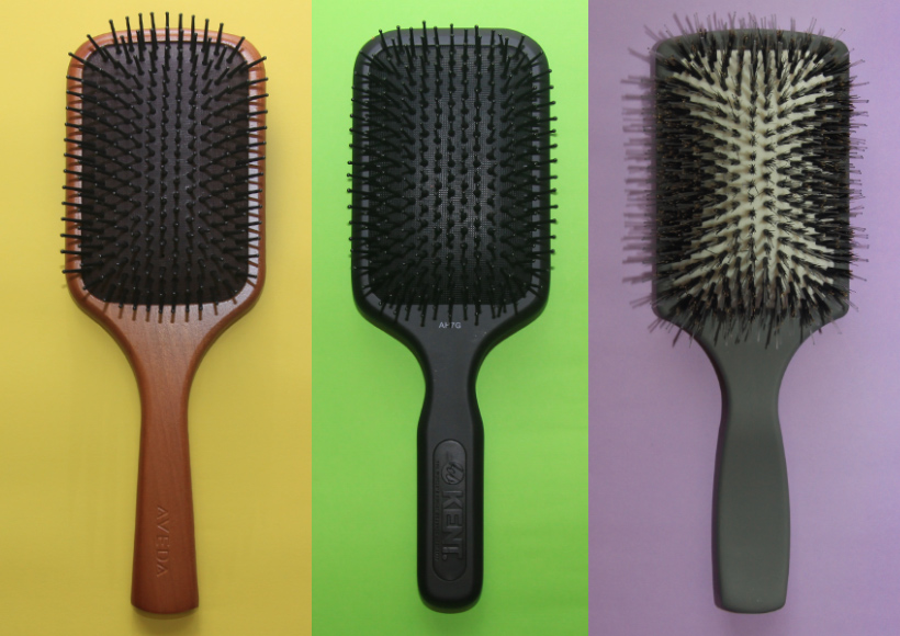Paddle brush blow-drying tips