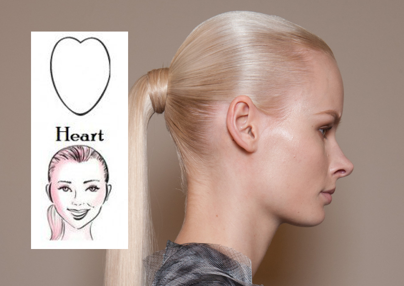 Hair styles to suit face shapes