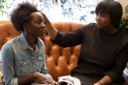 How to transition from relaxed hair to natural texture