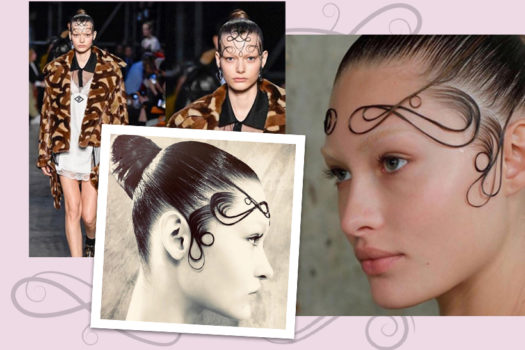 How to rock slicked baby hairs – Burberry style