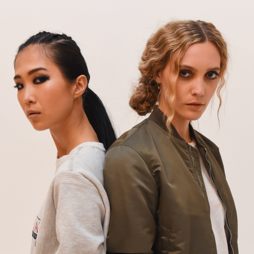 5b9e7b070f3cb9 Hairstylists Samantha Hillerby and Joshua Goldsworthy answer the challenge  to deliver the perfect plait