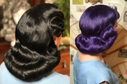 Dita Von Teese's hairdresser shares her vintage hair tips
