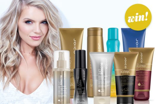 Shake it off with our £164 JOICO styling and haircare bundle