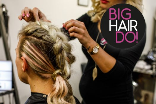 The only way is braids at Big Hair Do 2018