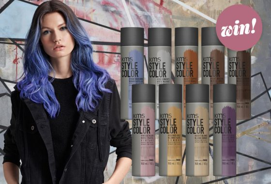 Express yourself with a KMS STYLECOLOR set, worth £115
