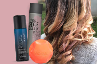 Colour without commitment? Spray then sleigh!