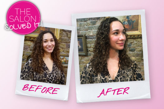 The Salon Solved It… my fear of cuts for curly hair