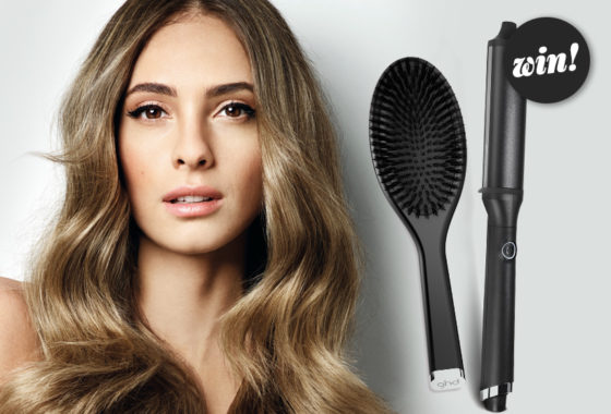 Win waves for days with the ghd curve classic wave wand and oval brush, worth £140