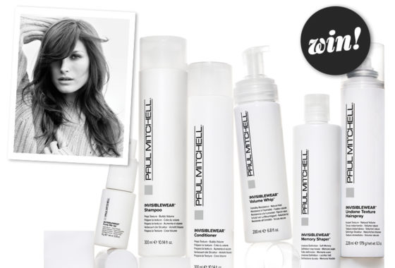 Upgrade your daily routine with INVISIBLEWEAR from Paul Mitchell, worth £100