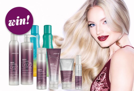 Shine bright with a selection of JOICO hair heroes, worth £109