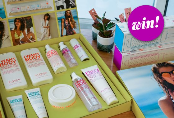 Grab a slice of the haircare action with a box full of Eleven Australia, worth £160