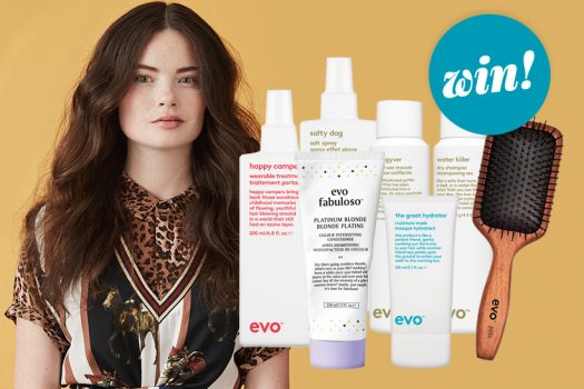 Upgrade your styling routine with a tailored hamper of treats from evo, worth £160