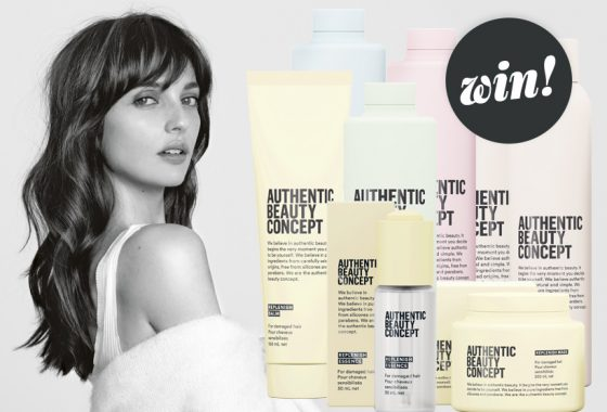 Enhance your natural beauty with a haircare hamper from Authentic Beauty Concept, worth £105