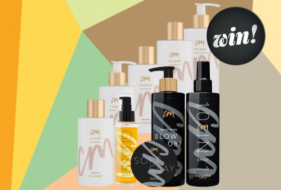 Prep your tresses for party season with a Charlie Miller haircare hamper, worth £173