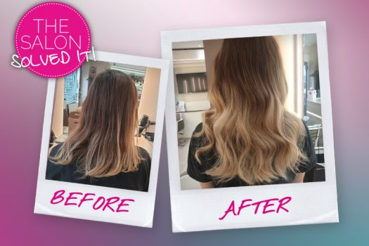 The Salon Solved It – the quick (and natural-looking) extensions makeover