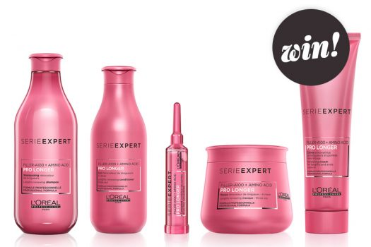 Plump up your ends with L'Oréal Professionnel Serie Expert Pro Longer haircare, worth £71