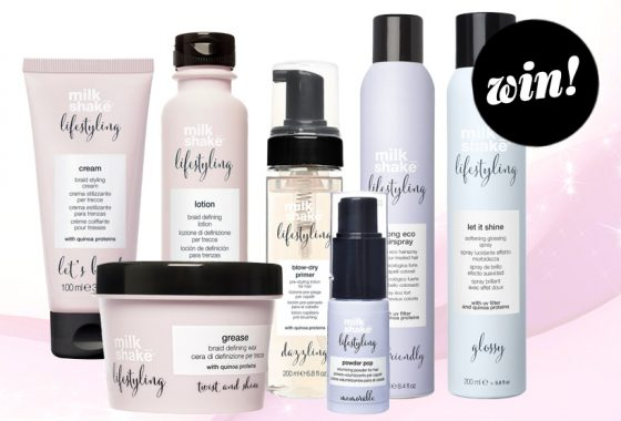 Become a styling sensation with a bundle of milk_shake Lifestyling products, worth £116