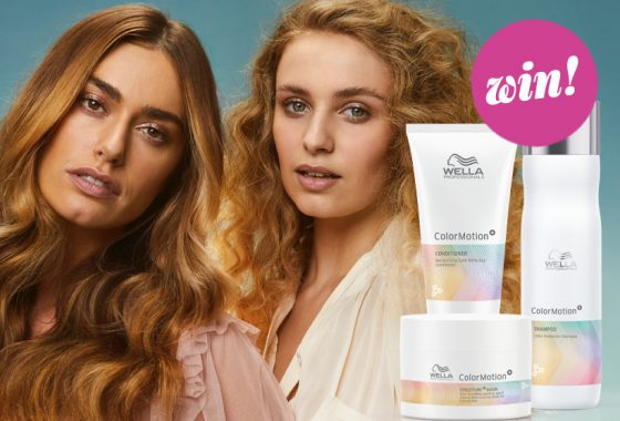 Transform your tresses' fortunes with Wella Professionals ColorMotion+ haircare, worth £100