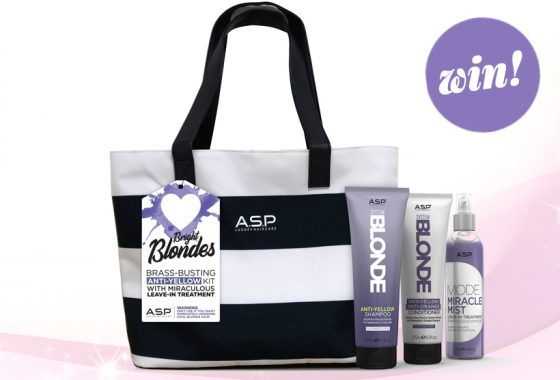 Get your strands summer ready with a sizzling ASP summer bag, worth £100