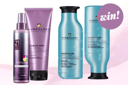 Protect and perfect with game-changing haircare from Pureology worth £98!