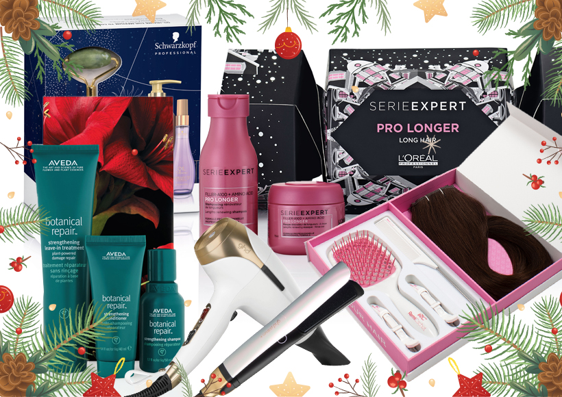 Haircare Gift Sets Available In Salons At Christmas Layered