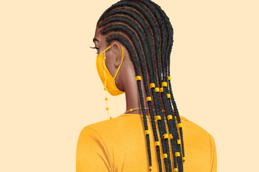 The PPE-friendly hair trends for 2021