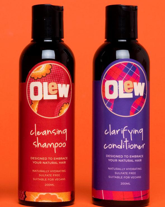 Olew cleansing shampoo and clarifying conditioner
