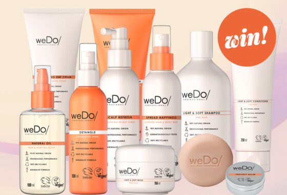 Care for your hair AND the planet with a bundle of weDo/ Professional products worth £230!