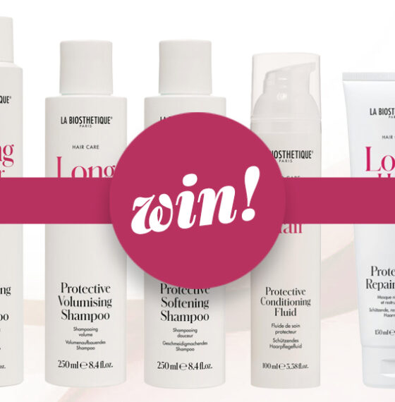 Keep long locks looking lush with the new range from La Biosthetique, worth £124!