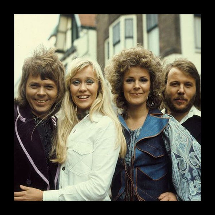 Image of Abba from the seventies