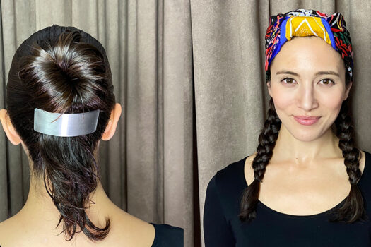 Five star holiday hair styling… at home