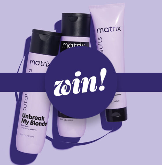 Discover the new BFF for blondes from Matrix worth £83!