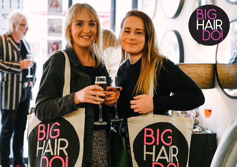 Guests at Big Hair Do in 2019