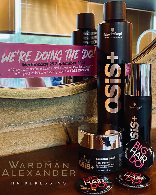 Hair products available at the Big Hair Do 2021
