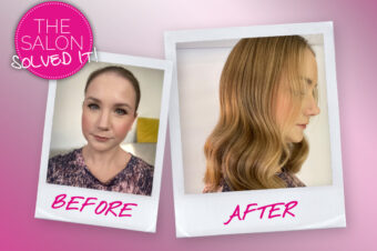 The Salon Solved It… giving dull hair back its shine
